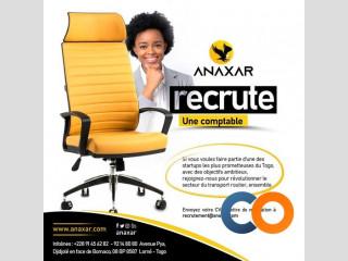 ANAXAR, la startup de transport au Togo recrute un comptable dans l'immédiat - Lome, Togo