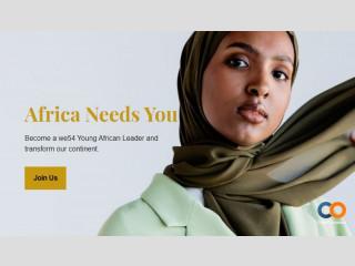 Postulez pour devenir un jeune leader africain we54
