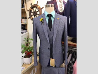 Vente de vestes Marshalino 3 pièces (bleue, blanche, grise, noir)
